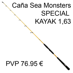 CAÑA SEA MONSTERS SPECIAL KAYAK 1,63